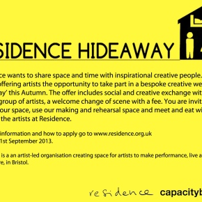 Hideaways open call