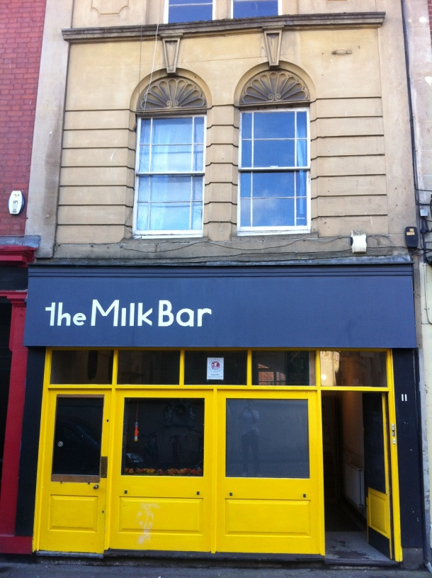 The Milk Bar, Saint Nicholas Street, Bristol
